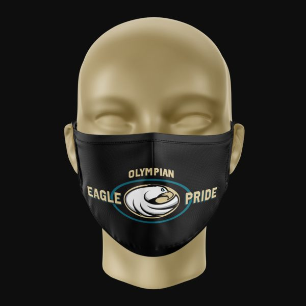 Olympian Eagle Pride Mask Black